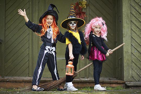 Hexenparty für Fasching und Halloween
