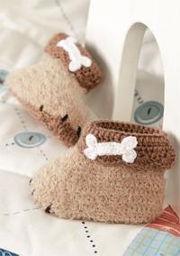 Babyschühchen Häkeln Süße Hundepfötchen Familiede