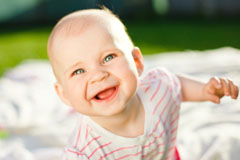 Schmutz trainiert Babys Immunsystem