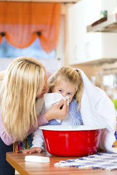 Inhalieren bei Kindern