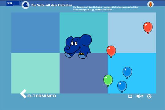 Internetseiten für Kinder: Die Seite mit dem Elefanten
