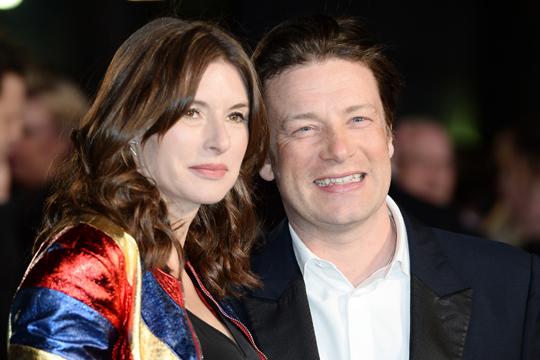 Jamie Oliver: Kind Nr. 5 unterwegs