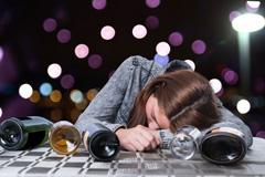 Teenager trinken zu viel