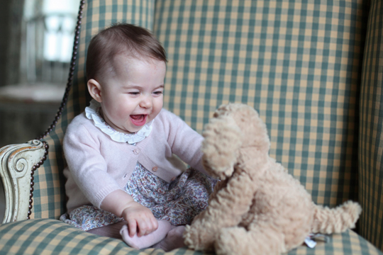 Kate Middletons Tochter Prinzessin Charlotte