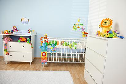 Vorsicht vor Keimfallen im Kinderzimmer