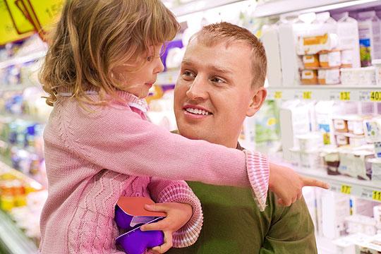 Heimweh bei Kindern: Selber Einkaufen