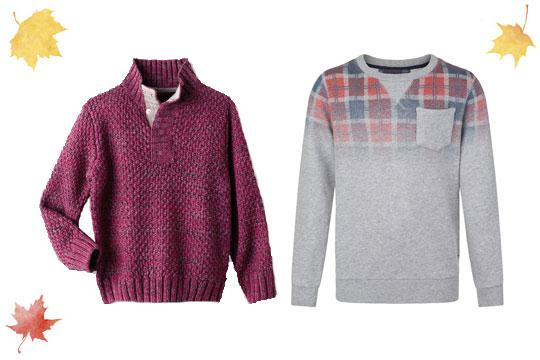 Warme Pullover für Jungen