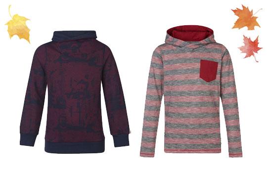 Coole rote Sweatshirts für Jungs