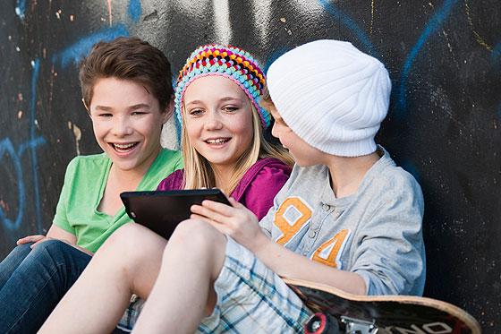 Faceboook und Co. wichtig für Identitätsbildung