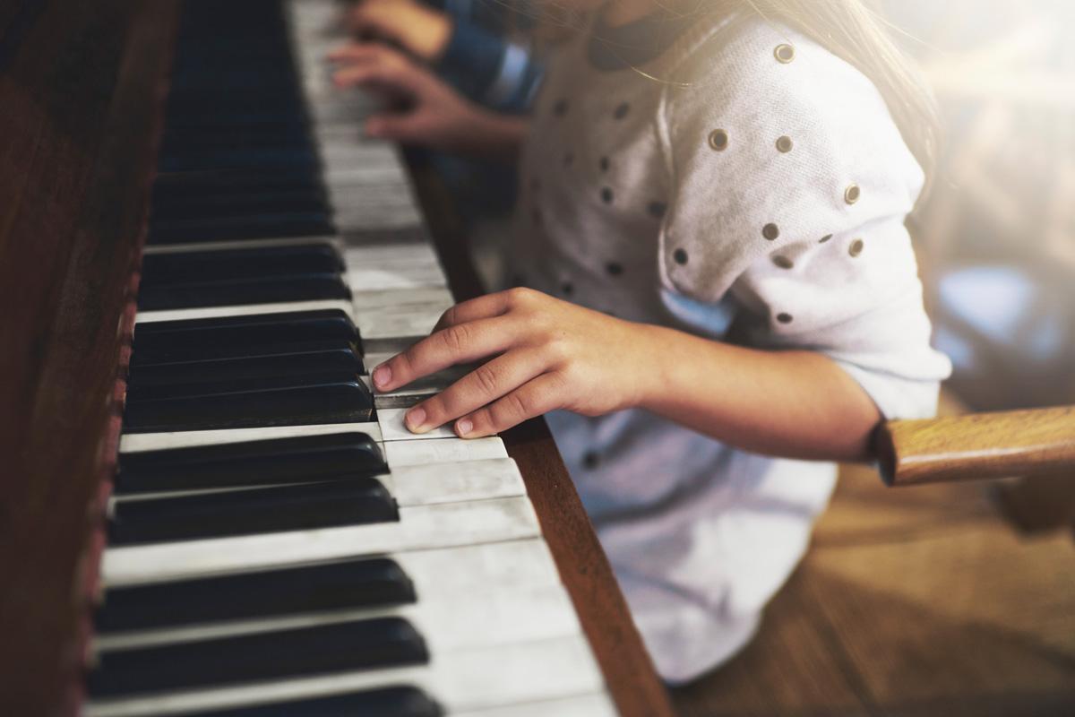Kinder und Hobbys - Musik