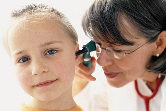 Besuch beim Kinderarzt