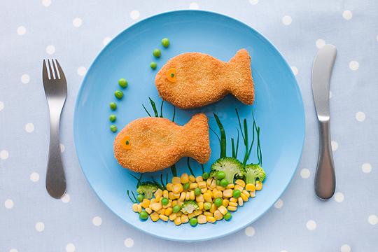 Regel 5: Wöchentlich Fisch
