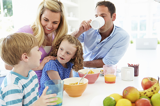 Regel 4: Fünf Mahlzeiten
