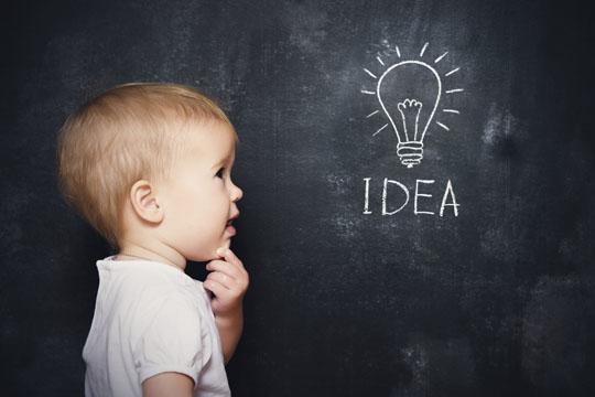Kinderfotos: Ideen