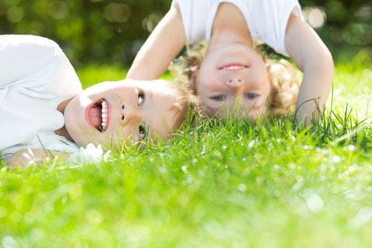 Kinderfotos: Spaß haben