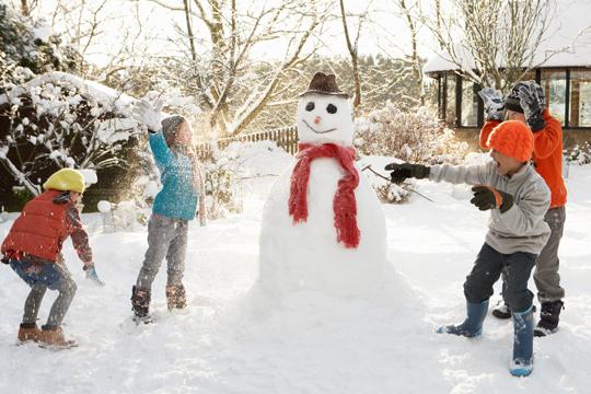 Winter-Party zum Kindergeburtstag