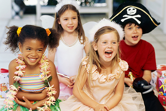 Mottoparty zum Kindergeburtstag