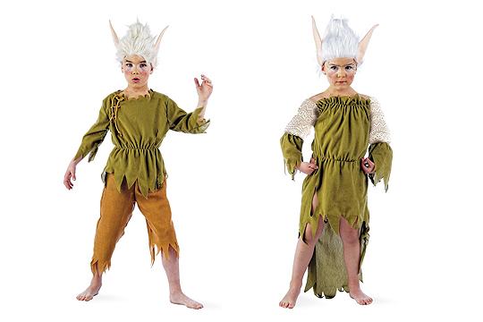 Kinderkostüme Lumpen-Elf