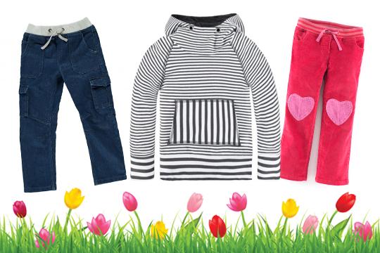 Kinderkleidung: Schön und praktisch