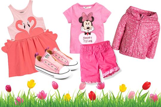 Kinderkleidung: Pretty in Pink