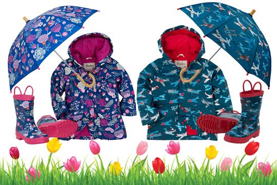 Kinderkleidung: Regenwetter