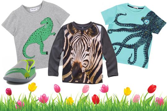 Kinderkleidung: Wilde Tiere für wilde Jungs