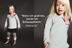 Kindermodels mit Down-Syndrom