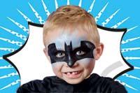 Kinderschminken: Batman