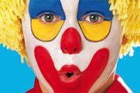 Kinderschminken: Clown. Weitere Anleitungen auf familie.de.