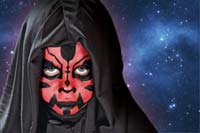 Kinderschminken: Darth Maul