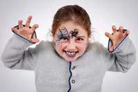 Kinderschminken: Hexe