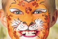 Kinderschminken: Leopard. Weitere Anleitungen auf familie.de.