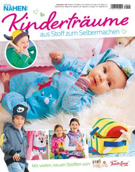 Sabrina Nähen für Kinder Sonderheft Cover