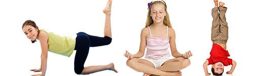 Kinderyoga macht Spaß und fit