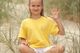 Kinderyoga-Übungen: Fünfe gerade