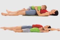 Kinderyoga-Übungen für Kinder
