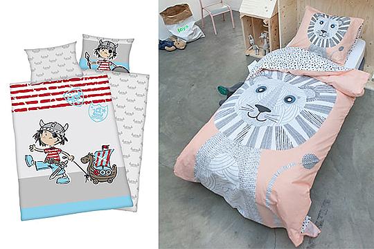 Schicke Und Kuschelig Weiche Kinderbettwäsche Für Jungs Und Mädchen