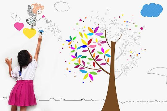 Kinderzimmer gestalten: Highlights setzen
