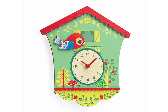 Wanduhr Peggy's clock von Djeco