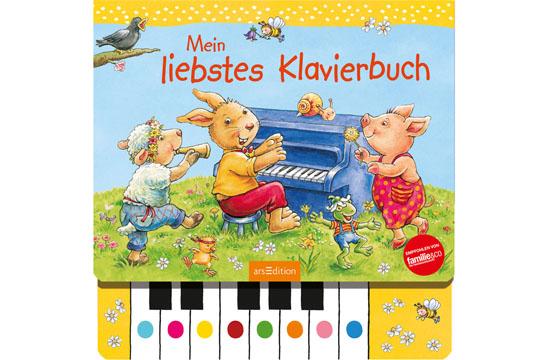 Buchtipp: Mein liebstes Klavierbuch