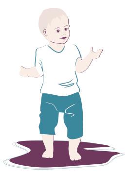 Kleinkind-Entwicklung: 14. Monat