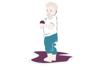 Kleinkind-Entwicklung: 15. Monat