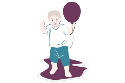 Kleinkind-Entwicklung: 16. Monat
