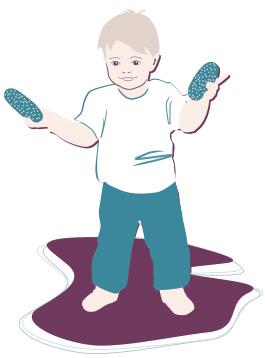 Kleinkind-Entwicklung: 23. Monat