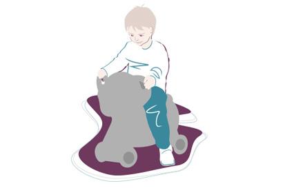Kleinkind-Entwicklung: 25. Monat