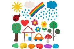 Knete: Bastelideen für Kinder