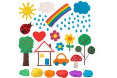Knete - Ideen für Kinder