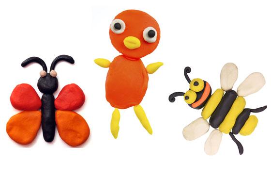 Knete - Tierfiguren