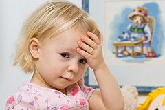 Kopfschmerzen bei Kindern