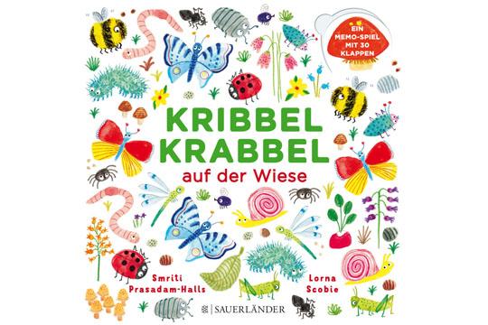 Buchtipp: Kribbel Krabbel auf der Wiese